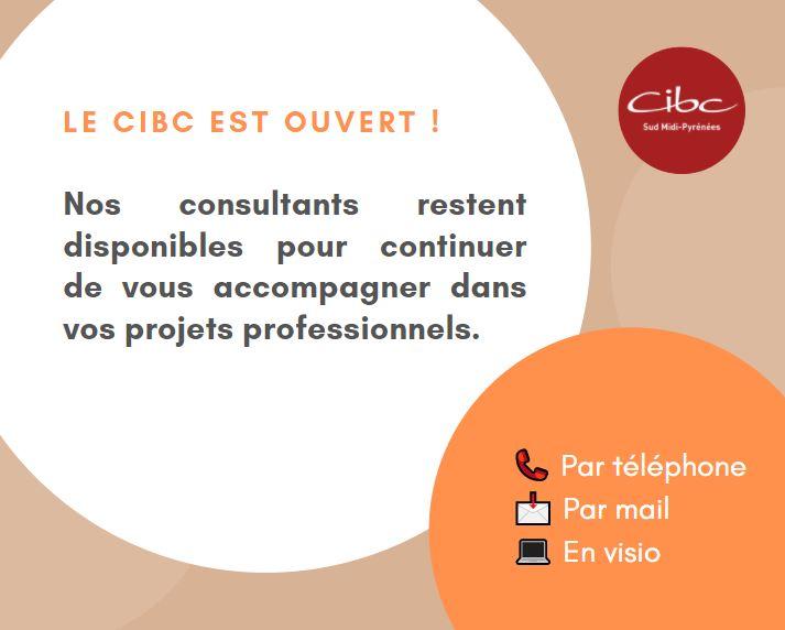 Le CIBC est ouvert !